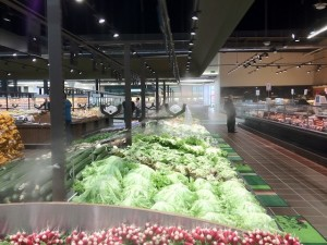 brumisateur magasin alimentaire